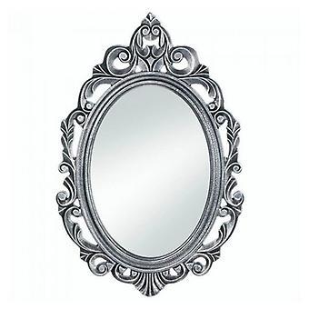 Miroir mural en bois Accent Plus Silver Royal Crown, Pack de 1
