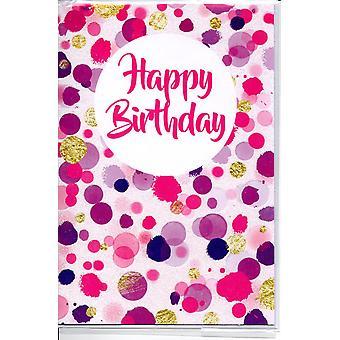 Grattis på födelsedagskort kvinna