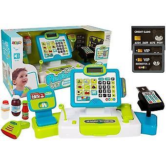Spielzeugkasse - mit Waage - Scanner und Stift - 38 cm