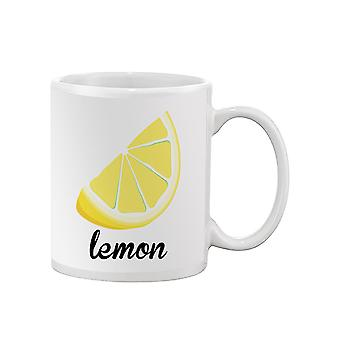A Lemon Mug -SPIdeals Designs