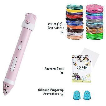 3D printers 3d pen diy 3d printer pen drawing pens 3d printing best for kids with pcl filament 1.75Mm christmas