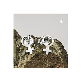 Stud Earring Female Silver 925 39430 39430 39430