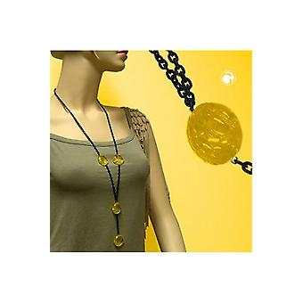 Necklace Eye-catching Beads Yellow 90cm 45061 45061 45061