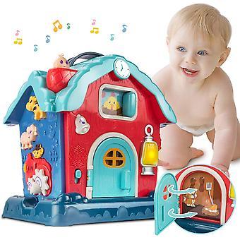 Vauvan musikaalilelele taaperoille, vauvan aktiviteettileuva musikaalilaululla
