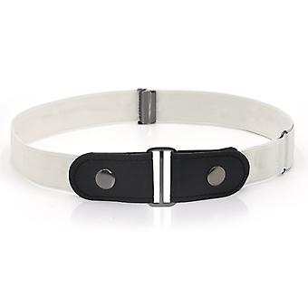 Confezione da 2 Senza fibbia Cintura elasticizzata invisibile Slim-fit Cintura invisibile elastica