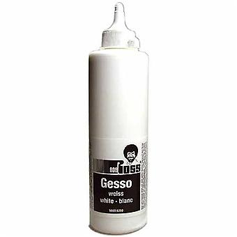 Bob Ross hvit Gesso (500ml)