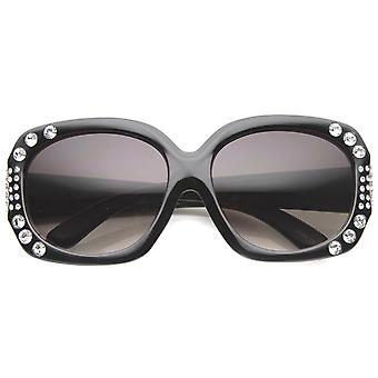 Womens Butterfly Sunglasses With UV400 Protected Gradient Lens