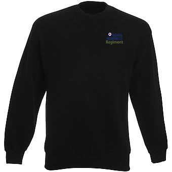 RAF Regiment Logo - offizielle königliche Luftwaffe Schwergewichts-Sweatshirt