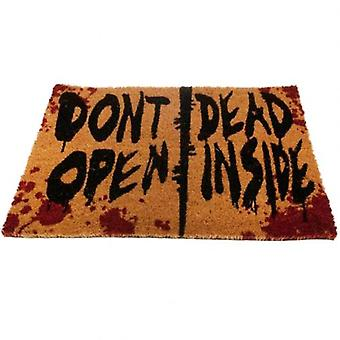 The Walking Dead Doormat