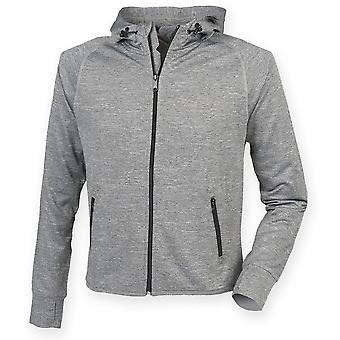 Tombo Teamsport Unisex Lightweight Running Hoodie With Reflective Tape
