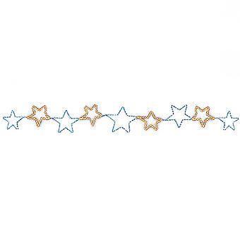 Christmas Shop Light Up Star Chain Decoration