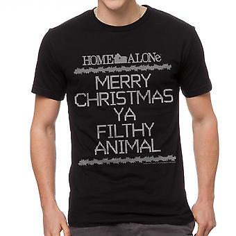 Page d'accueil seul Crosstitch sale noir T-shirt homme