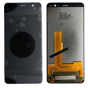 Skjerm LCD fullstendig enhet for HTC U11 pluss reparasjon svart