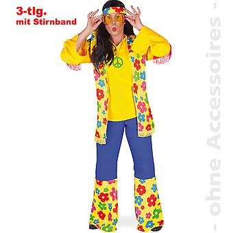 Hippie flower power 60s hippie costume costume ladies flower child women's costume
