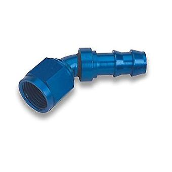 Earl's 704613ERL Super Stock Hose End (Bagged Packaging; 45 degree; -12AN; Hose Number -12AN; Hose Size 0.75 inch)