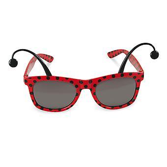Polisson accessoire de lunettes coccinelle insecte bug
