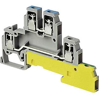 ABB 1SNA 110 441 R2400 Industrial terminal block 6 mm Screws Configuration: Terre, L Grey 1 pc(s)