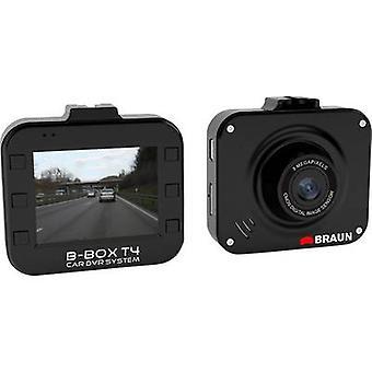 Braun Deutschland B-Box T4 Dashcam horizontale Betrachtungswinkel (Max.) = 120 ° 12 V Batterie, Display, Mikrofon