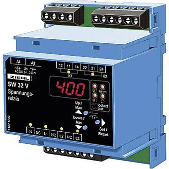 Ziehl SW32V Voltage monitoring relay No. of relay outputs: 2