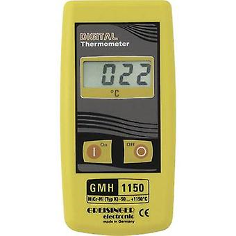 Greisinger GMH 1150 Thermometer -50 up to +1150 °C Sensor type K Calibrated to: Manufacturers standards (no certificate)