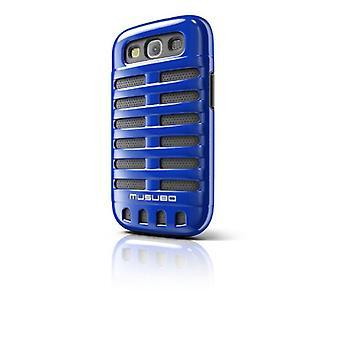 Musubo Retro Case for Samsung Galaxy S3 (Blue)
