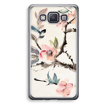 Samsung Galaxy A3 (2015) gjennomsiktig sak (myk) - Japenese blomster