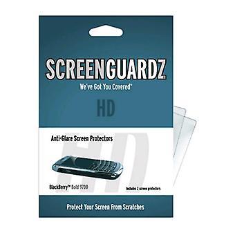 BodyGuardz-ScreenGuardz HD näytön suoja BlackBerry Bold 9700/9780-läpinäkyvä