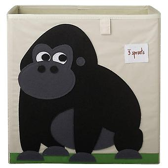 Box folding fabric Gorilla toy store
