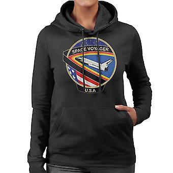 Sudadera con capucha NASA STS 61C lanzadera de espacio Colombia misión parche mujeres