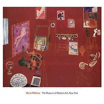 The Red Studio Poster Print by Henri Matisse (29 x 27)