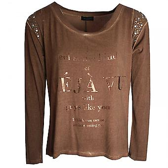 Javier Simorra Deja Vu Printed Long Sleeve Top