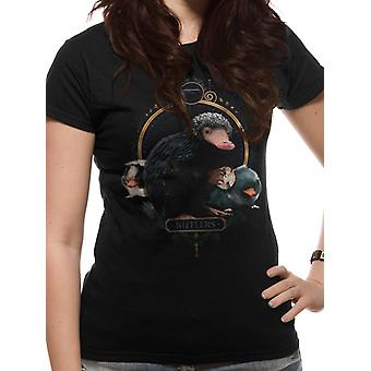 Crimes Of Grindelwald-Nifflers T-Shirt, women