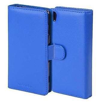 Cadorabo Hülle für Sony Xperia Z5 Compact Case Cover - Handyhülle mit Magnetverschluss und 3 Kartenfächern - غطاء الحالة Schutzhülle Etui Tasche Book Klapp Style