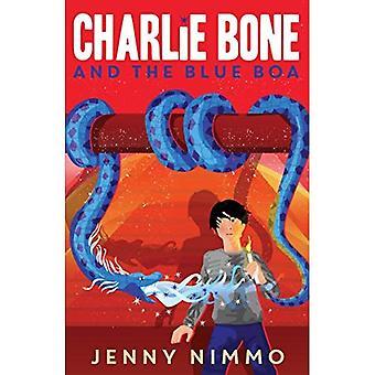 Charlie ben och blå Boa