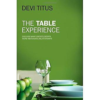 The Table Experience: Discover What Creates Deeper, More Meaningful Relationships