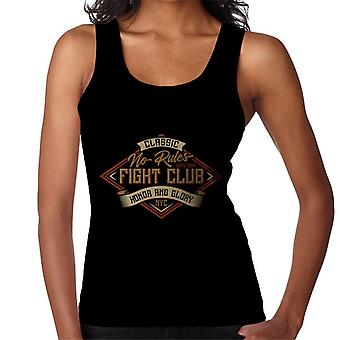 No Rules Fight Club Women's Vest