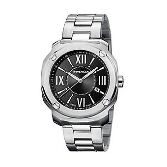 Wenger Quartz Analog Unisex Adult with stainless steel strap Edge Romans No: 01.1141.118