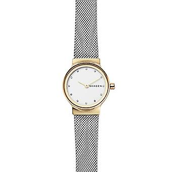 Skagen ladies Quartz analogue watch with stainless steel band SKW2666