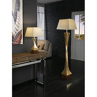 Schuller Gold Flake Decorative Tall Floor Lamp