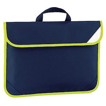 Quadra Enhanced-Vis Book Bag - 4 Litres (Pack of 2)