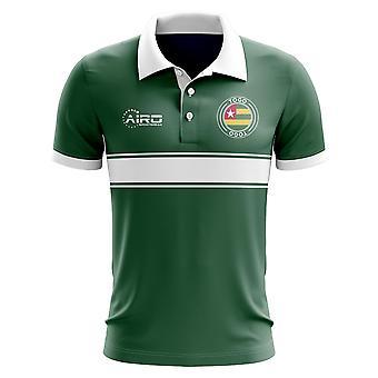 Togo Concept Stripe poloshirt (groen)