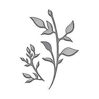 Spellbinders Die D-Lites - Plants Etched Dies