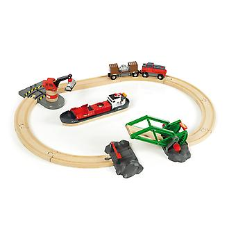 Brio 33061 Cargo Harbour Set