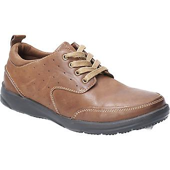 هش الجراء الرجال أبولو تنفس الدانتيل حتى الأحذية الجلدية
