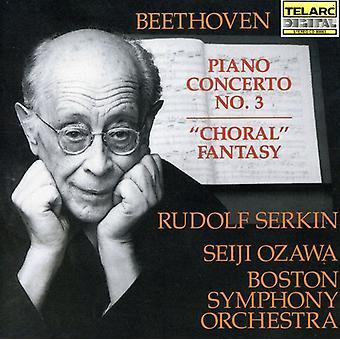 L.V. Beethoven - Beethoven: Piano Concerto No.3; Choral Fantasy [CD] USA import