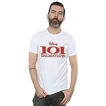 Disney Men's 101 Dalmatians Logo T-Shirt