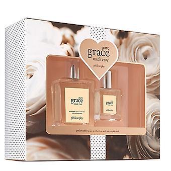 Philosophie Pure Grace Nude Rose 2 Pièce Ensemble