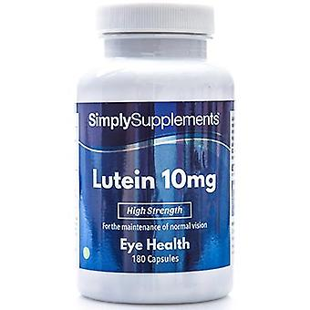 Lutein-10mg - 180 Capsules