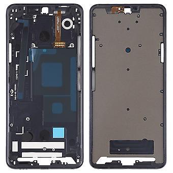 Boliger ramme midterste ramme front kabinet kompatibel til LG G7 ThinQ sort