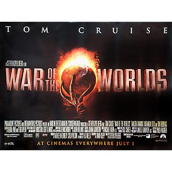 War Of The Worlds (Single Sided) Original Cinema Poster